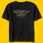 Aerosmith Faded Wings Classic Rock T-Shirt