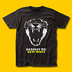 Against Me! New Wave Punk Rock T-Shirt