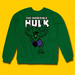 Incredible Hulk Dark Green Sweatshirt