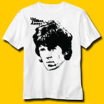 Keith Richards Vintage White T-Shirt