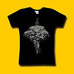 Keith Richards The X-Pensive Winos Girls Jersey Tee
