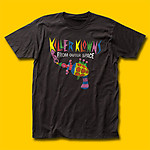 Killer Klowns from Outer Space Popcorn Gun Movie T-Shirt