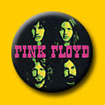 Pink Floyd Green Faces 1 Inch Button
