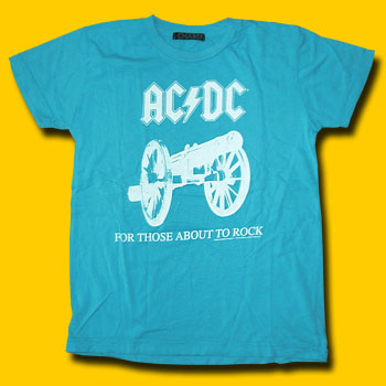 AC/DC For Those About To Rock Girls Jersey Tee