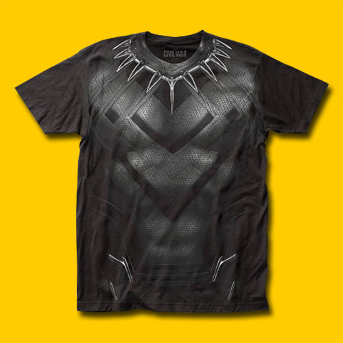 Black Panther CW Suit T-Shirt