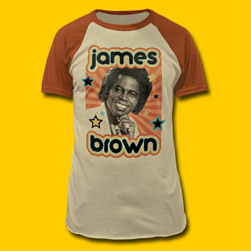 James Brown Portrait T-Shirt