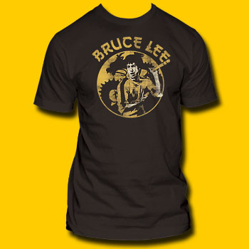 Bruce Lee Black T-Shirt