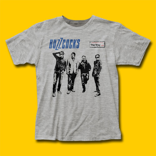 Buzzcocks The Way Punk Rock T-Shirt