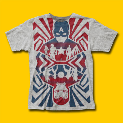 Captain America: Civil War Opposing Forces T-Shirt