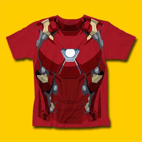 Captain America: Civil War Iron Man CW Suit T-Shirt