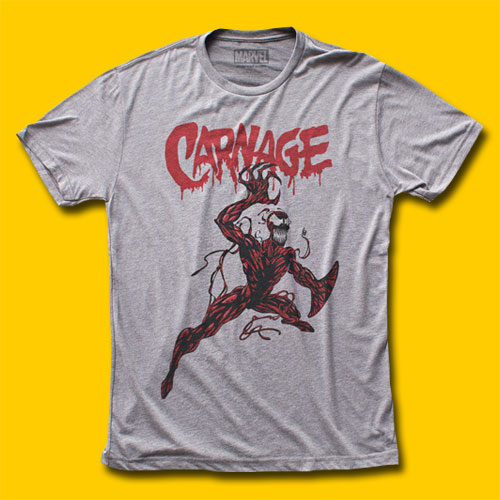 Carnage Action Tri-Blend T-Shirt