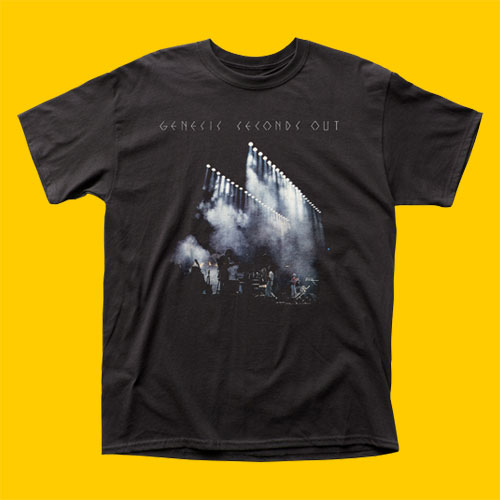 Genesis Seconds Out T-Shirt
