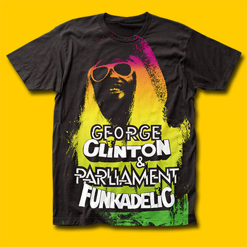 Funkadelic George Clinton Black T-Shirt