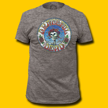 Grateful Dead Heather Grey T-Shirt