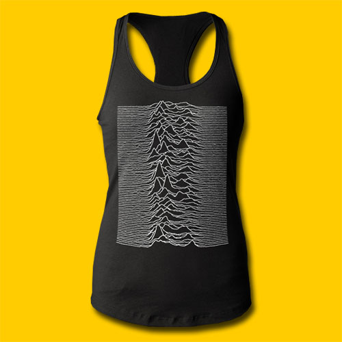 Joy Division Unknown Pleasures Girls Tank