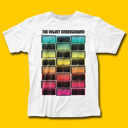 Velvet Underground Meters White Rock T-Shirt bdb3d27732a