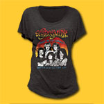 Aerosmith U.S. Tour 84 Girls Jersey Tee