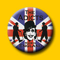 The Adicts Made In England 1 Inch Button
