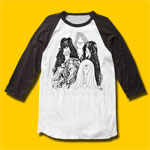 Aerosmith Draw the Line Rock 3/4 sleeve T-Shirt
