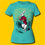 Alice's Adventures in Wonderland Late Girls Crew T-Shirt