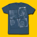The Beatles Let It Be Classic Rock T-Shirt
