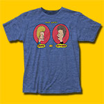 Beavis & Butt-Head Heather Royal T-Shirt
