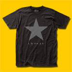 David Bowie Black Star Rock T-Shirt