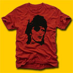 David Bowie Pirate Red Rock T-Shirt