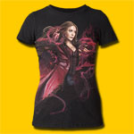 Captain America: Civil War Hex Girls Tri-Blend T-Shirt