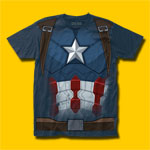 Captain America: Civil War CW Suit T-Shirt