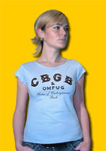 CBGB Shirred Neck Cap Sleeve
