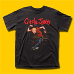 Circle Jerks Skank Man Punk Rock T-Shirt