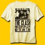 The Clash 1981 Poster T-Shirt