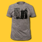 Clerks Time to Kick Back Movie Heather Grey T-Shirt