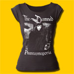 The Damned Phantasmagoria Girls Punk Rock Cut T-Shirt