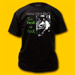 Dead Kennedys Too Drunk T-Shirt