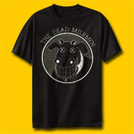 The Dead Milkmen Rock Black T-Shirt