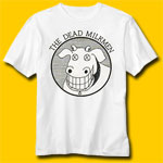 The Dead Milkmen Rock White T-Shirt