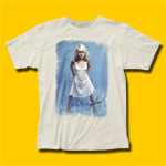 Debbie Harry White Dress Vintage White T-Shirt