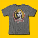 Debbie Harry Retro Debbie Heather Grey T-Shirt