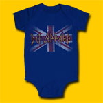 Def Leppard Union Jack Infant Onesie
