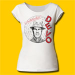 Devo Q: Are We Not Men? Girls Cut T-Shirt