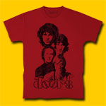 Doors Band Maroon T-Shirt