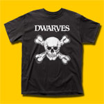 Dwarves Skull & Bone Punk Rock T-Shirt