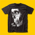 Evil Dead 2 Black And White Poster Movie T-Shirt