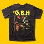 GBH Charged Punk Rock T-Shirt