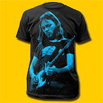 David Gilmour Pink Floyd Black T-Shirt