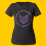 Hawkeye Distressed Icon Girls Crew Tee