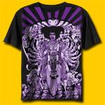Jimi Hendrix Axis Bold as Love Classic Rock T-Shirt