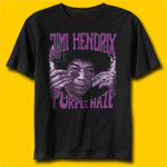 Jimi Hendrix Purple Haze Classic Rock T-Shirt